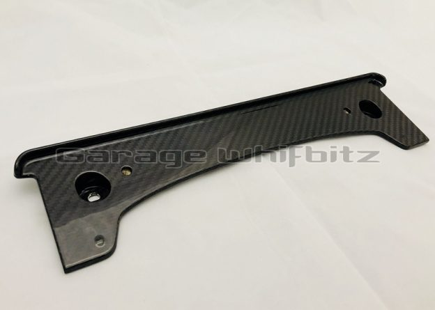 New Product! Whifbitz Supra Carbon Front Number Plate Holder