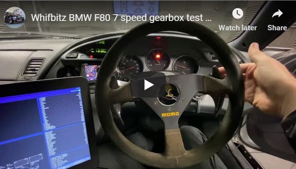 Whifbitz Supra F80 7 Speed DCT Gearbox Conversion