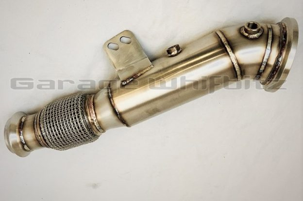 New Product! Garage Whifbitz GR Toyota Supra A90 Catless Downpipe!